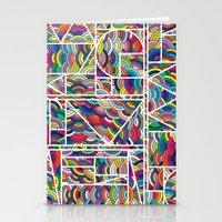 Kaku Technicolor Stationery Cards
