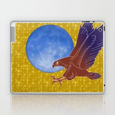 Eagle and Moon on Gold-leaf Screen Laptop & iPad Skin