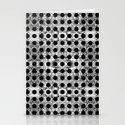 black dot system Stationery Cards