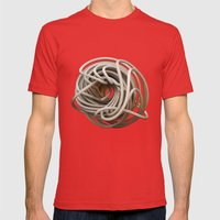 knoodle Mens Fitted Tee Red SMALL