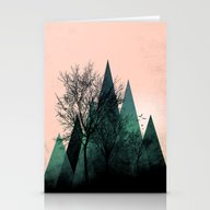 TREES VII  Stationery Cards