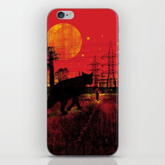 Cleo in the Dark iPhone & iPod Skin