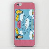 Beavis and Ouija Board iPhone & iPod Skin