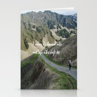 Thousand Miles Stationery Cards