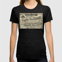 Plaques Ultra Rapides Womens Fitted Tee Tri-Black SMALL