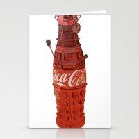 Dalek-Cola Stationery Cards