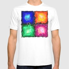 something must break Mens Fitted Tee SMALL White
