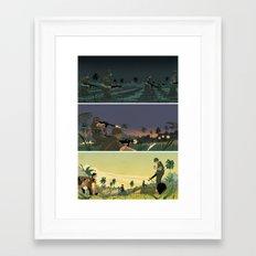 Vietnam Story 3 Framed Art Print