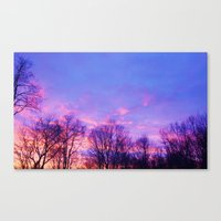 Valentine's Day Sky Canvas Print