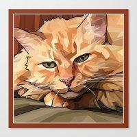 Louie Cat Canvas Print