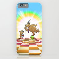 iPhone & iPod Case featuring Admiring Daddy Bear by Peter Gross