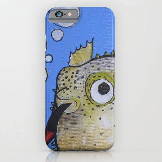 Puffer Fish iPhone & iPod Case