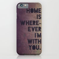 iPhone & iPod Case featuring With You by Leah Flores