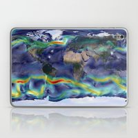 A Portrait of Global Winds Laptop & iPad Skin