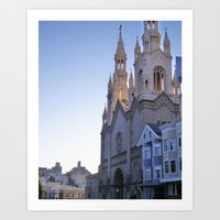 Cathedral I Art Print