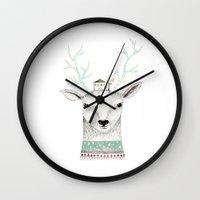 Mr. Deer Wall Clock