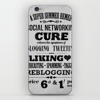 Social remedy iPhone & iPod Skin