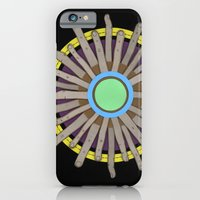 iPhone & iPod Case featuring radial blame I by rachel elizabeth duffin