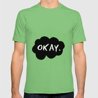 Okay Mens Fitted Tee Grass SMALL