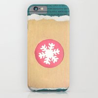 iPhone & iPod Case featuring Winter Tales by  d a n i e l  e s t h e r a s