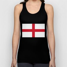 St. George's Cross (Flag of England) - Authentic version to scale and color Unisex Tank Top