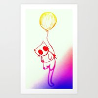 Balloon Animal (color) Art Print