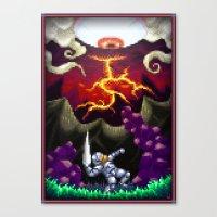 Pixel Art Series 5 : The… Canvas Print