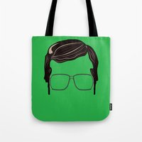 Brick Tamland: Weather Tote Bag
