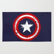 Captain's America Splash Rug