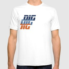 DIG Mens Fitted Tee SMALL White