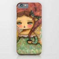 iPhone & iPod Case featuring The Queen Marie Antoinette by Danita Art