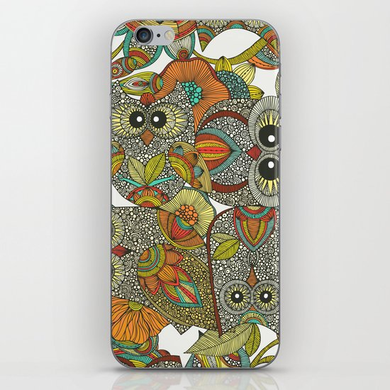 4 Owls iPhone & iPod Skin