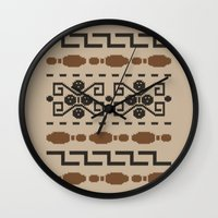 The Dude's Duds Wall Clock