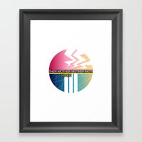 The Sticks Framed Art Print