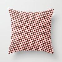 So cross… red! Throw Pillow