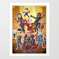group Art Print