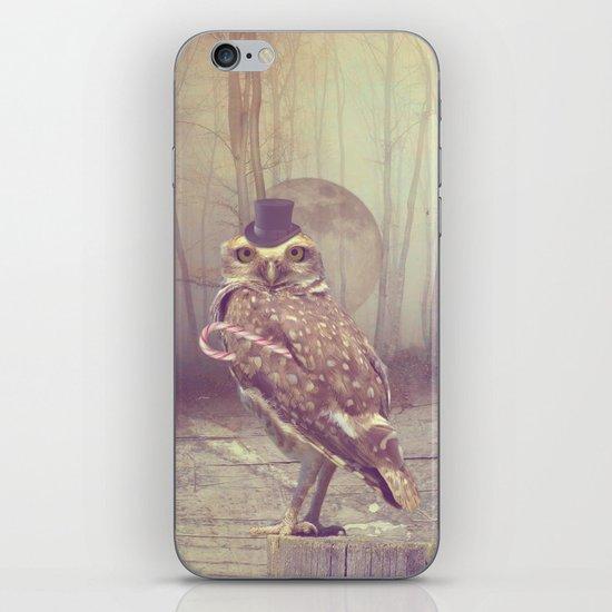 Fairy tale : owl iPhone & iPod Skin