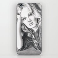 Adele iPhone & iPod Skin