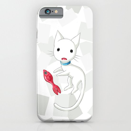 Cat and Fish iPhone & iPod Case