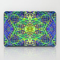 Tribal green iPad Case