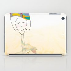 She was known for her interesting hats. iPad Case