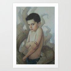 Tender Briar Art Print