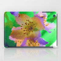 Purple Flowers - Waterco… iPad Case
