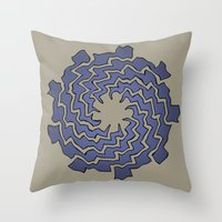 Wriggle Throw Pillow