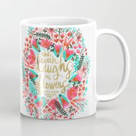 The Earth Laughs In Flow… Mug