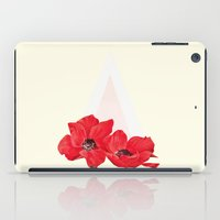 Floral Triangle iPad Case