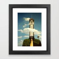 Cloudscraper Framed Art Print