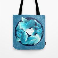 Underwater Guardians - F… Tote Bag
