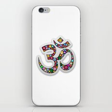 Om Aum Namaste Yoga Symbol  iPhone & iPod Skin
