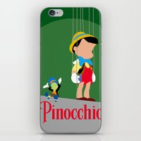 Pinocchio iPhone & iPod Skin